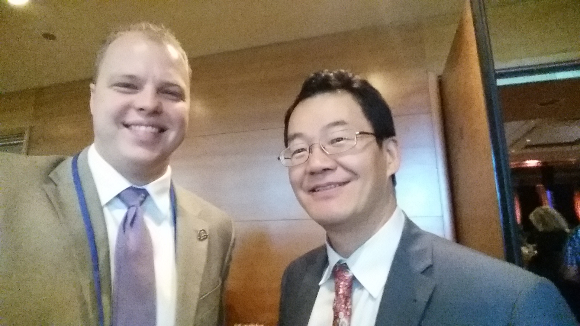 Selfie with NAR Chief Economist Lawrence Yun.