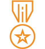 orange medal icon