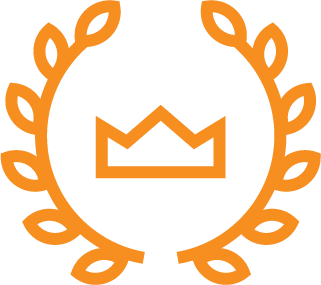 orange crown icon
